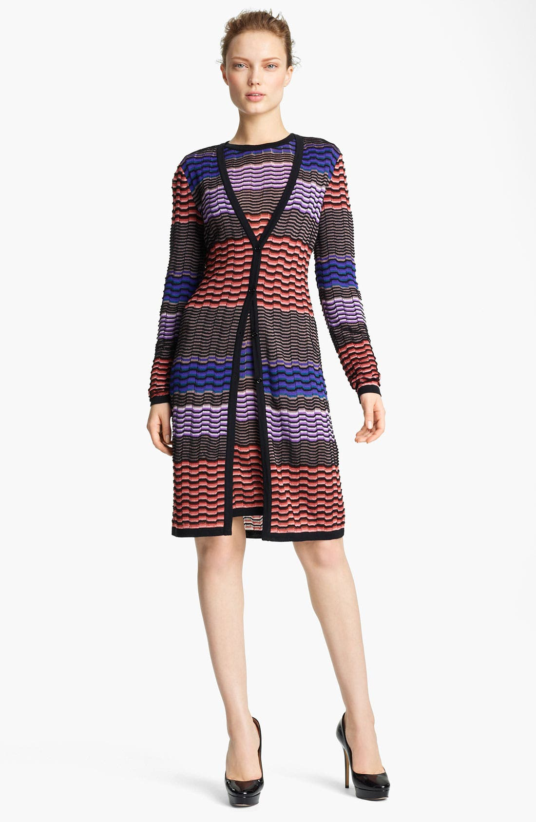 Alternate Image 1 Selected - Missoni Long Knit Cardigan
