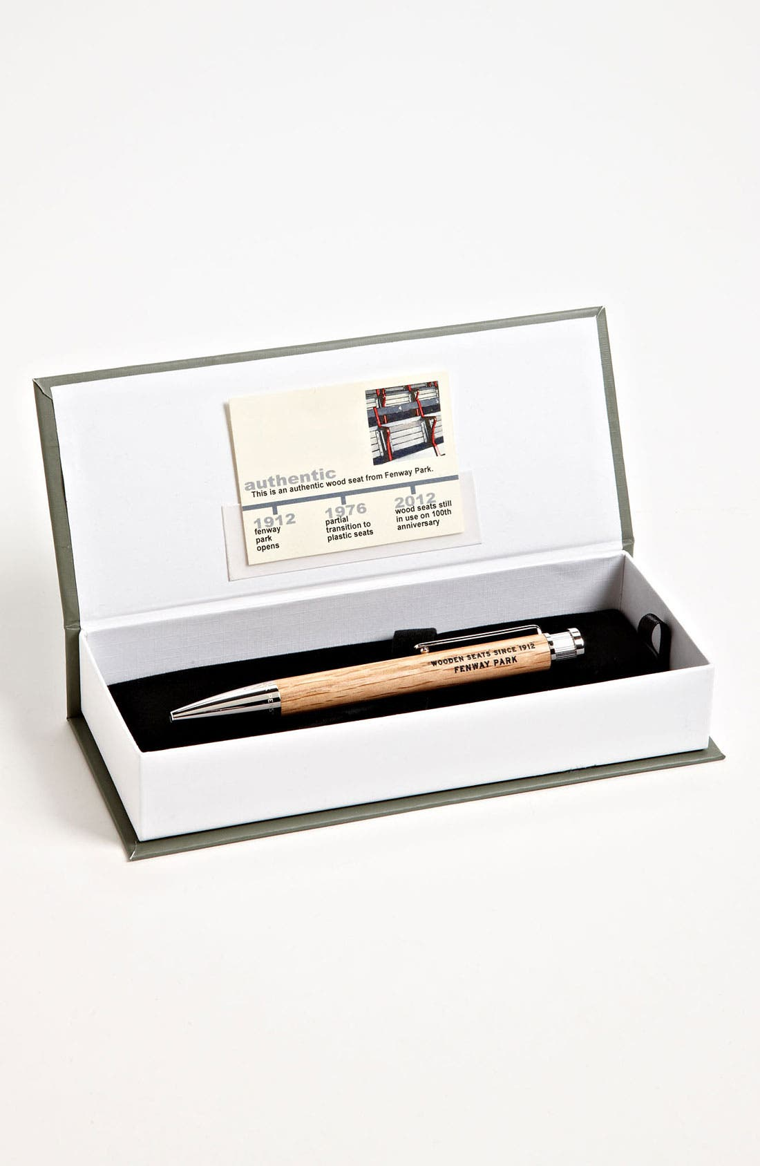 Alternate Image 1 Selected - Tokens & Icons 'Fenway Park' MLB™ Vintage-Ballpark Rollerball Pen
