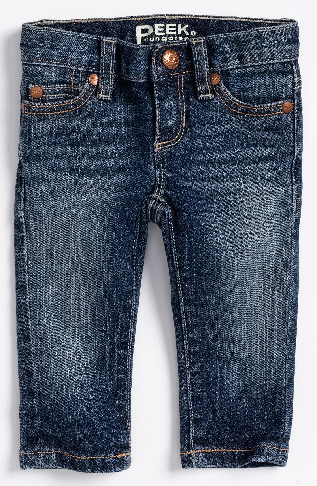 Alternate Image 2  - Peek 'Maya' Skinny Jeans (Infant)