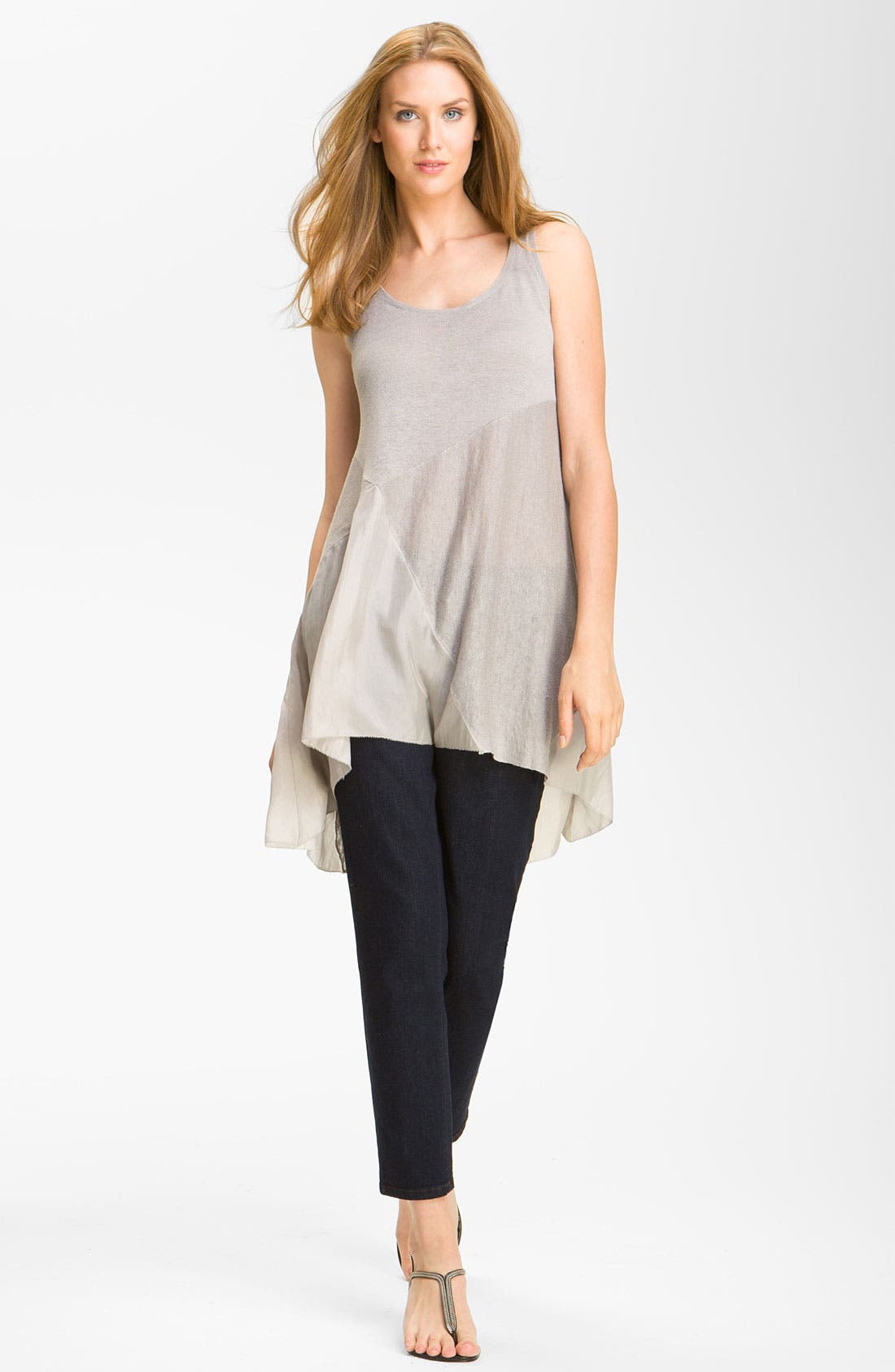 Alternate Image 3  - Eileen Fisher Slim Stretch Ankle Jeans