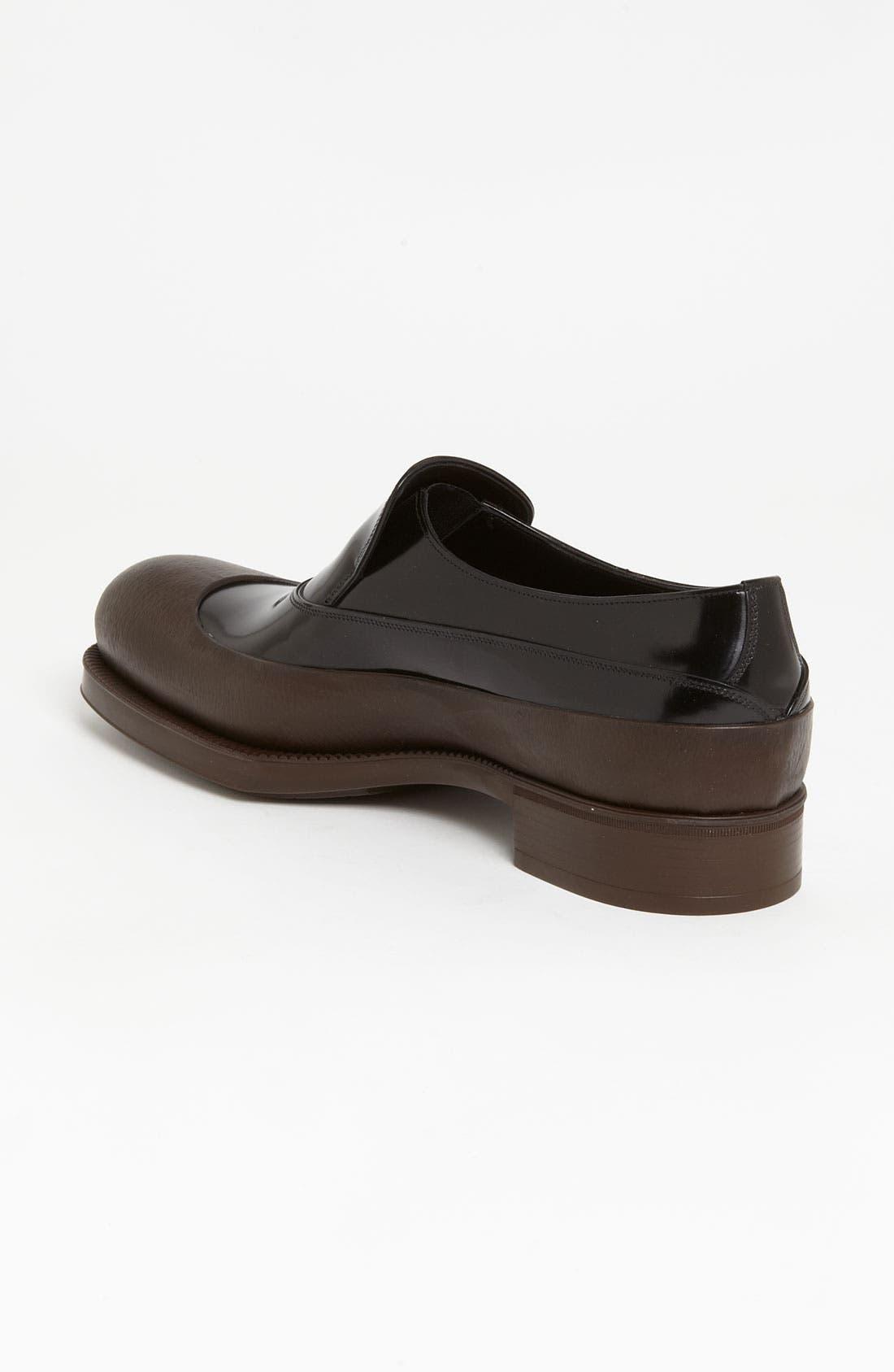 Alternate Image 2  - Prada Rubber Tipped Loafer