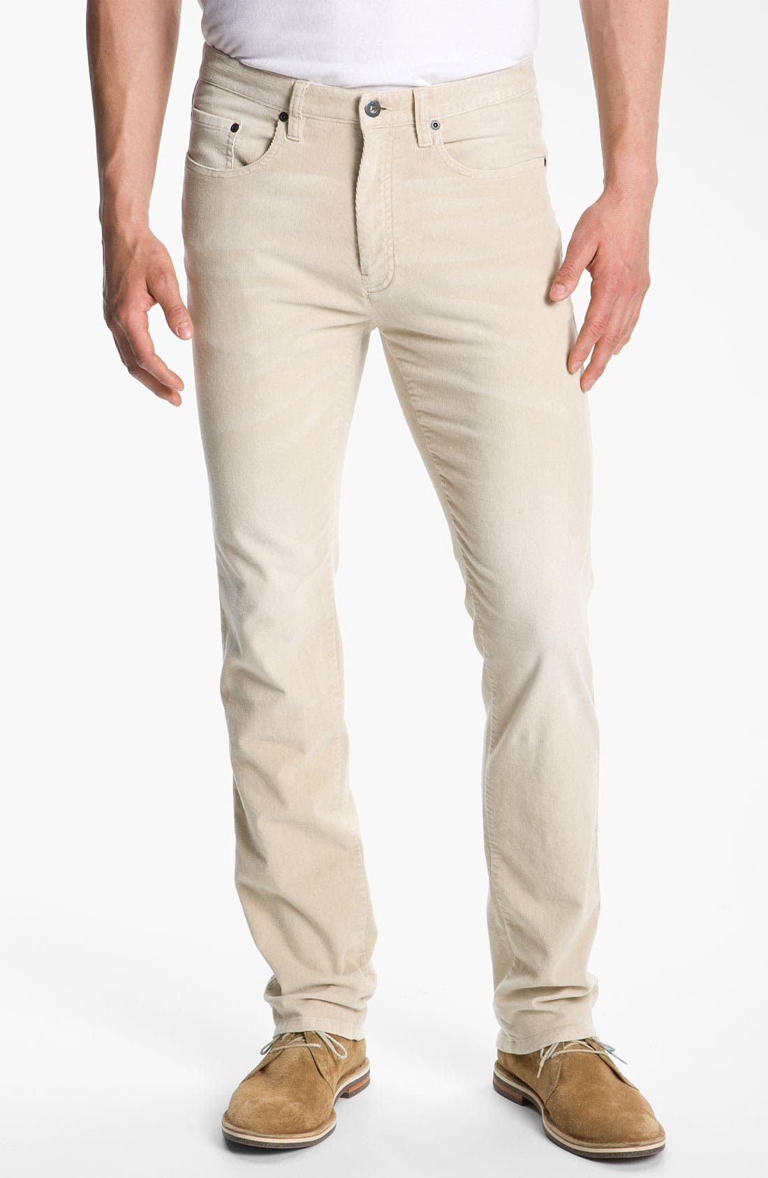 Alternate Image 1 Selected - Cutter & Buck 'Denny' Washed Corduroy Pants