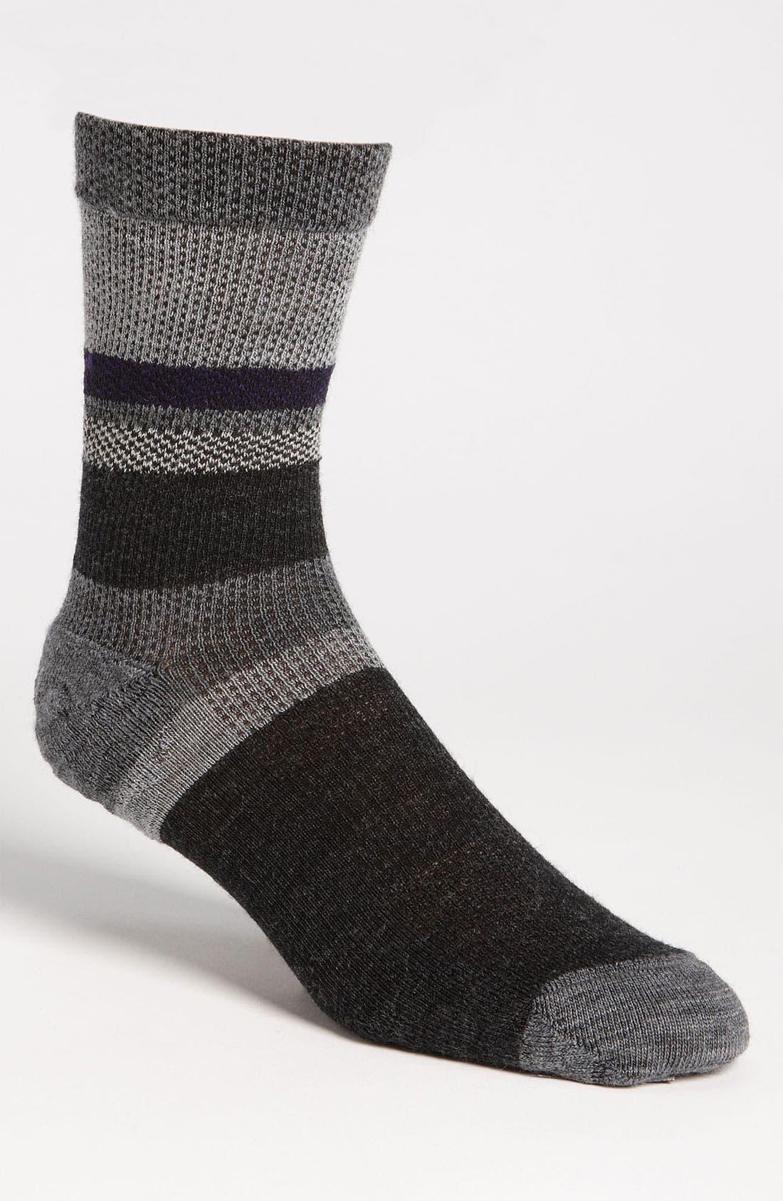 Alternate Image 1 Selected - Smartwool 'Distressed Stripe' Socks