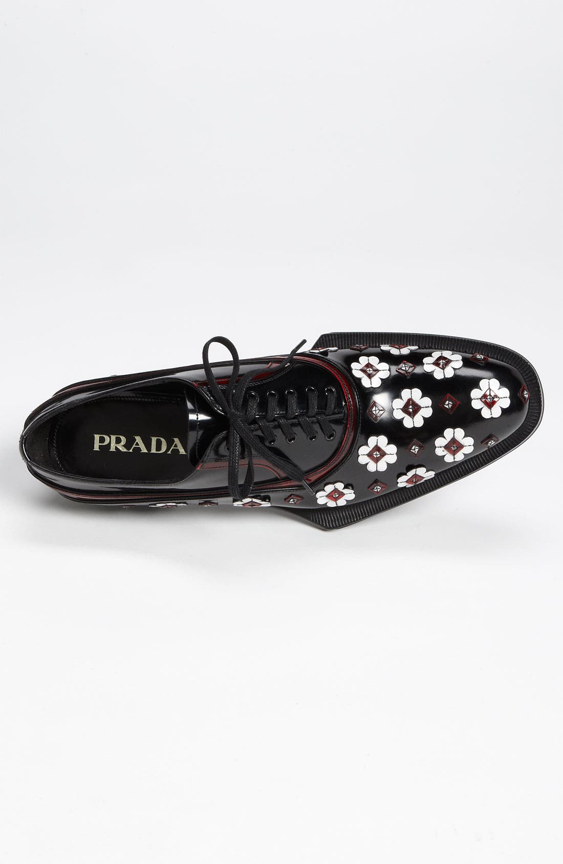 Alternate Image 3  - Prada 'Flower' Oxford