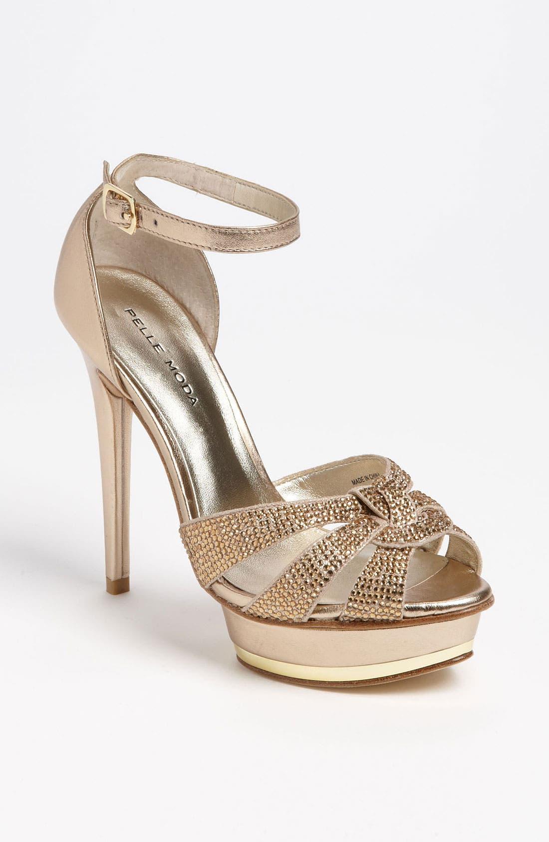 Alternate Image 1 Selected - Pelle Moda 'Ava' Sandal
