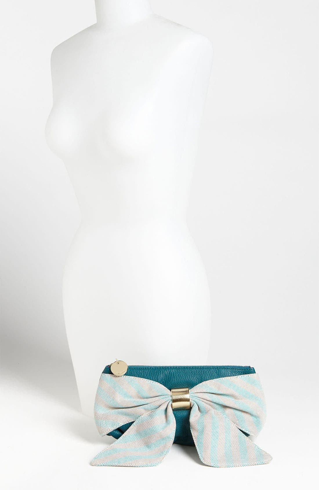 Alternate Image 2  - Deux Lux 'Heidi Girl' Stripe Box Clutch