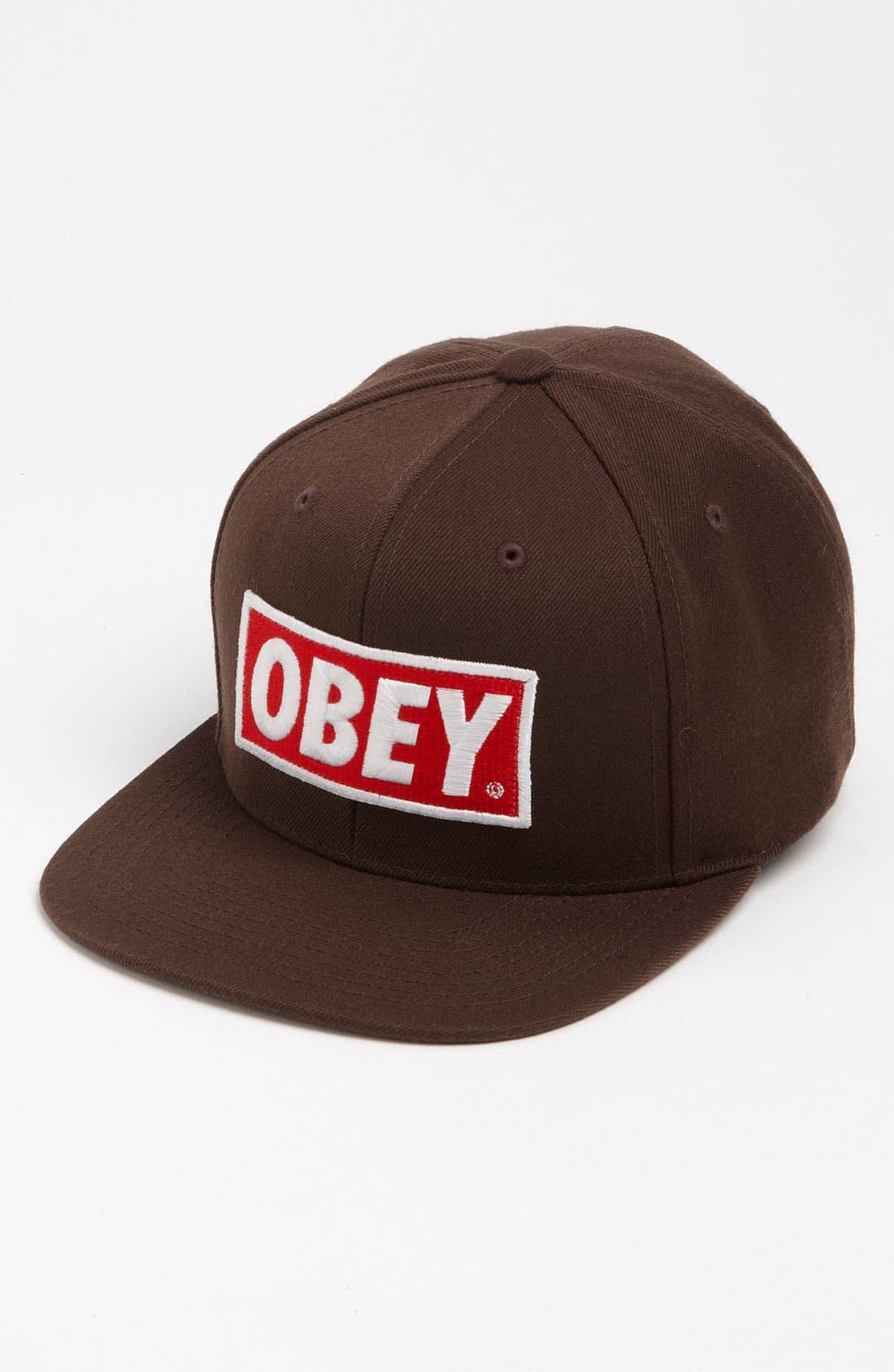 Main Image - Obey 'Original Snapback' Hat