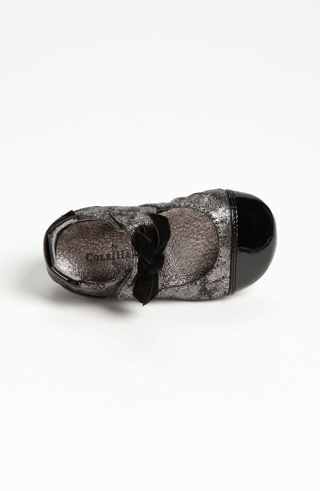 Alternate Image 3  - Cole Haan 'Mini Cap Toe' Leather Crib Shoe (Baby)