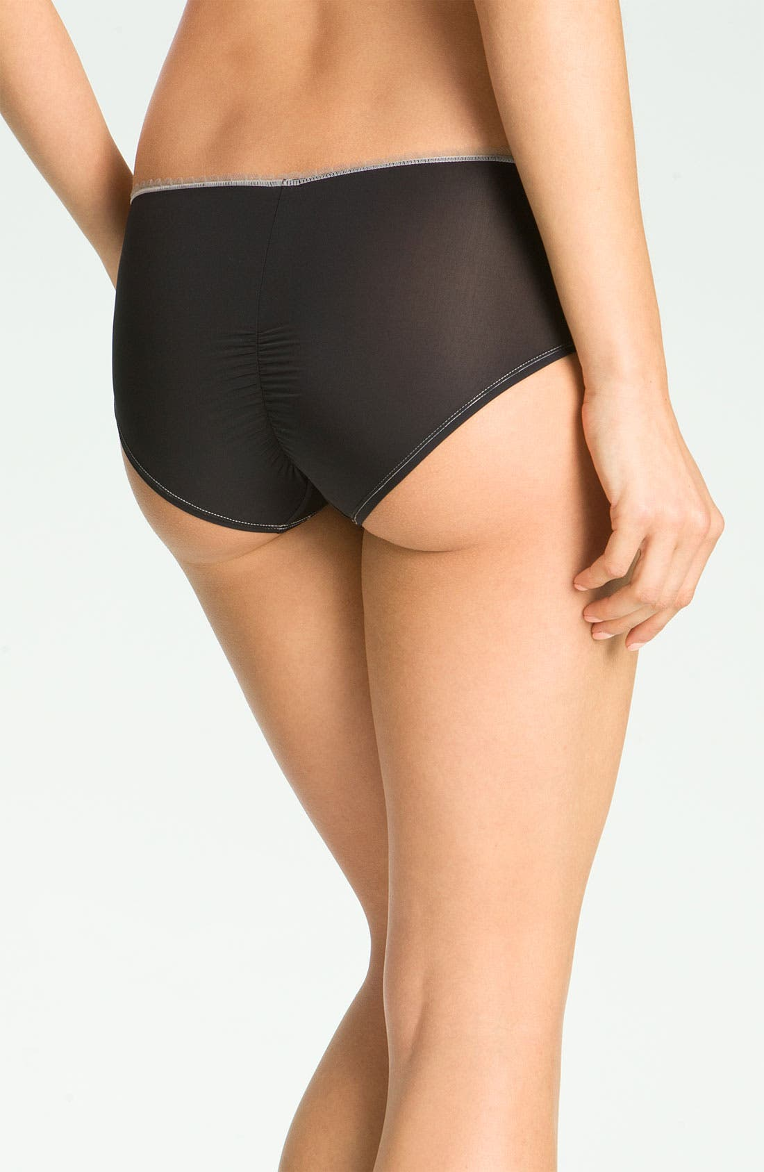 Alternate Image 2  - DKNY 'Super Sleek' Girl Shorts