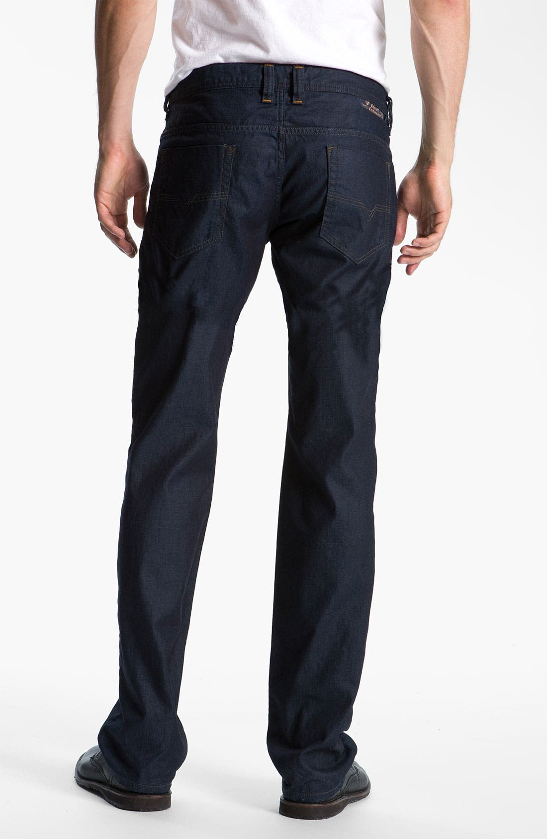 Alternate Image 1  - DIESEL® 'Safado' Slim Straight Leg Jeans (661D)