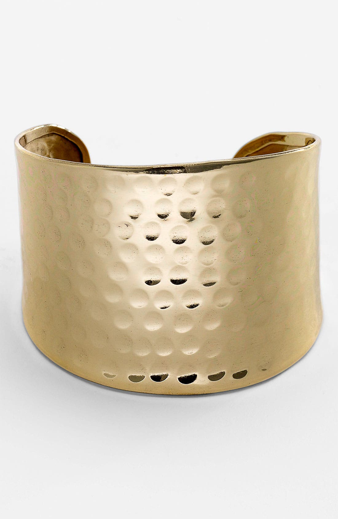 Alternate Image 1 Selected - Stephan & Co. Hammered Cuff