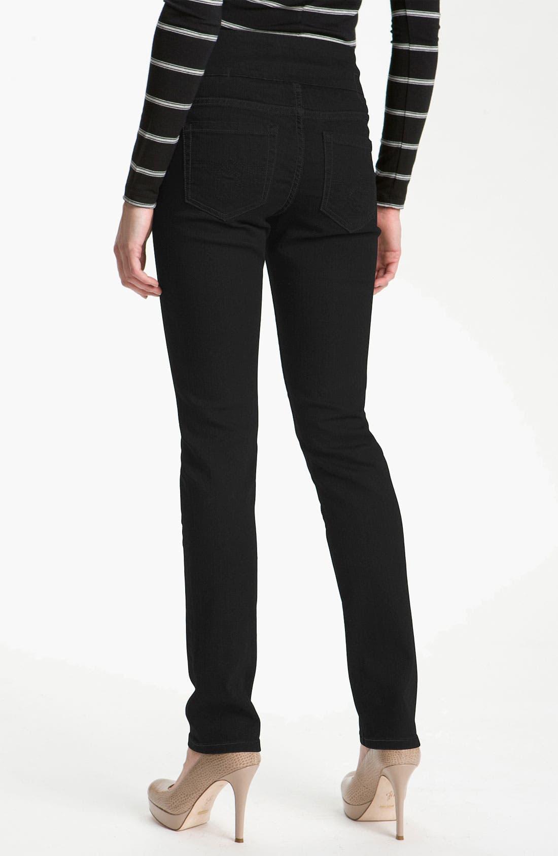 Alternate Image 2  - Jag Jeans 'Malia' Slim Leg Stretch Jeans (Petite)