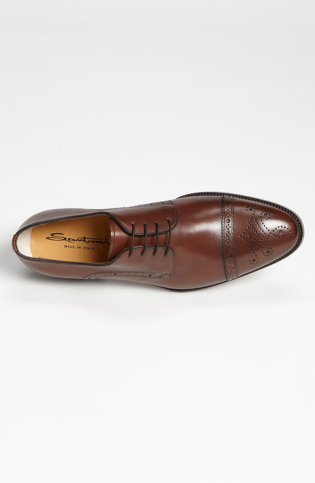 Alternate Image 3  - Santoni 'Quebec' Cap Toe Oxford