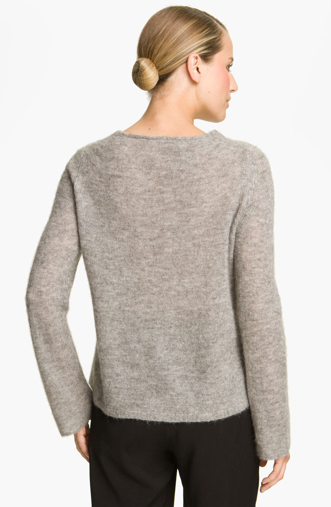 Alternate Image 2  - Halston Heritage Textured Knit Sweater
