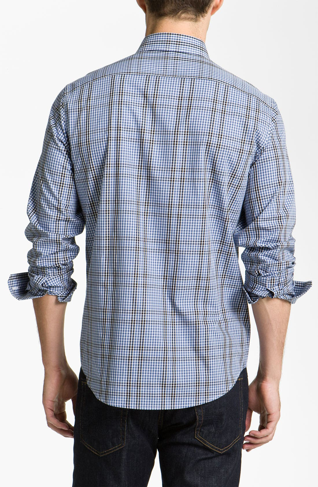 Alternate Image 2  - Michael Kors 'Spalding' Check Woven Shirt