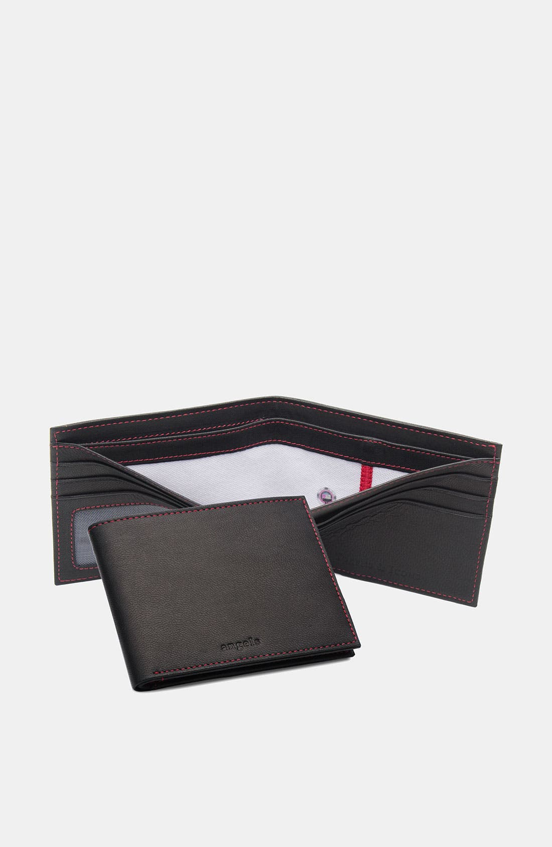 Alternate Image 1 Selected - Tokens & Icons 'Los Angeles Angels of Anaheim' MLB™ Game-Used-Uniform Wallet