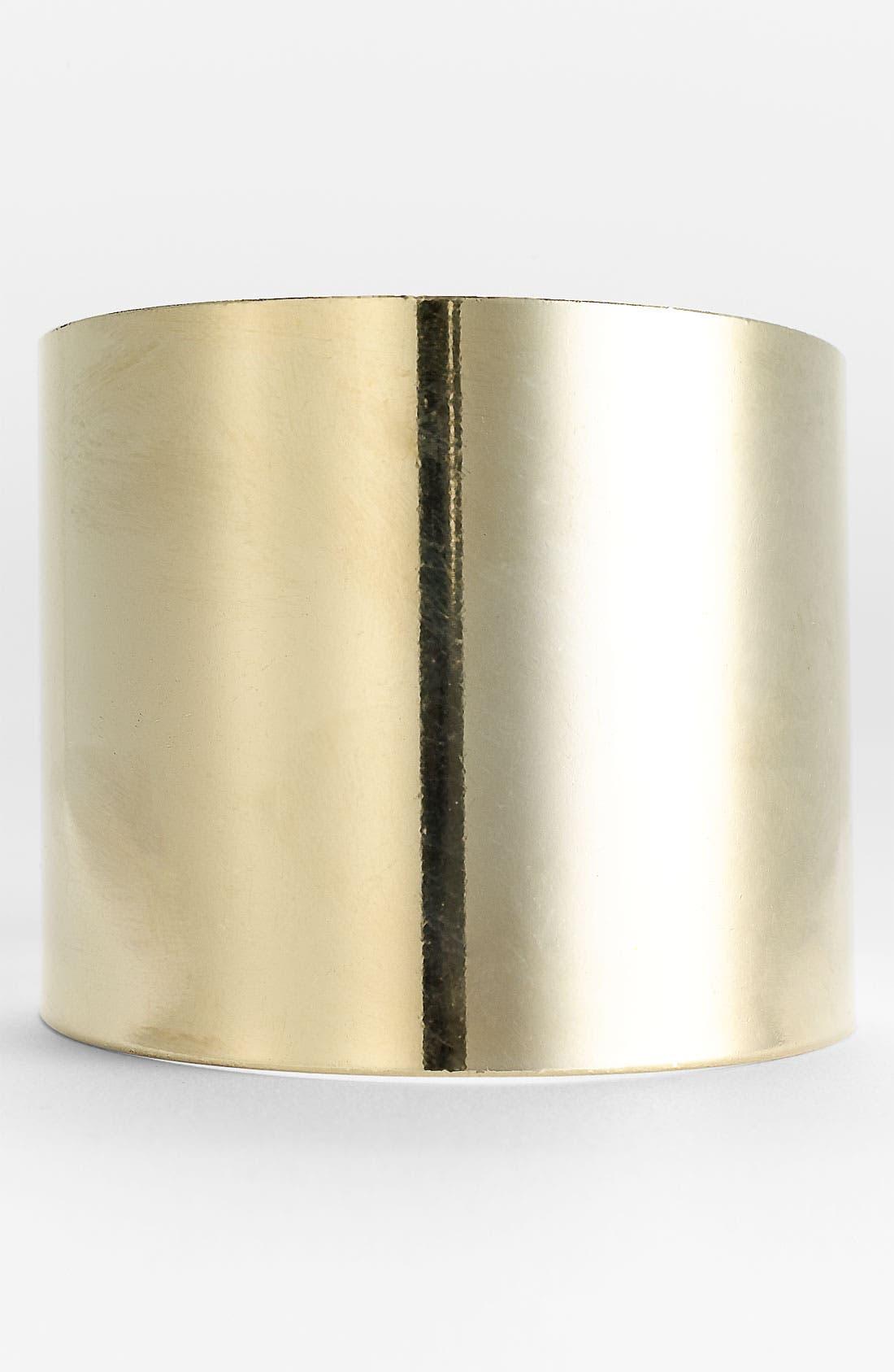 Main Image - Carole Minimalist Metal Cuff