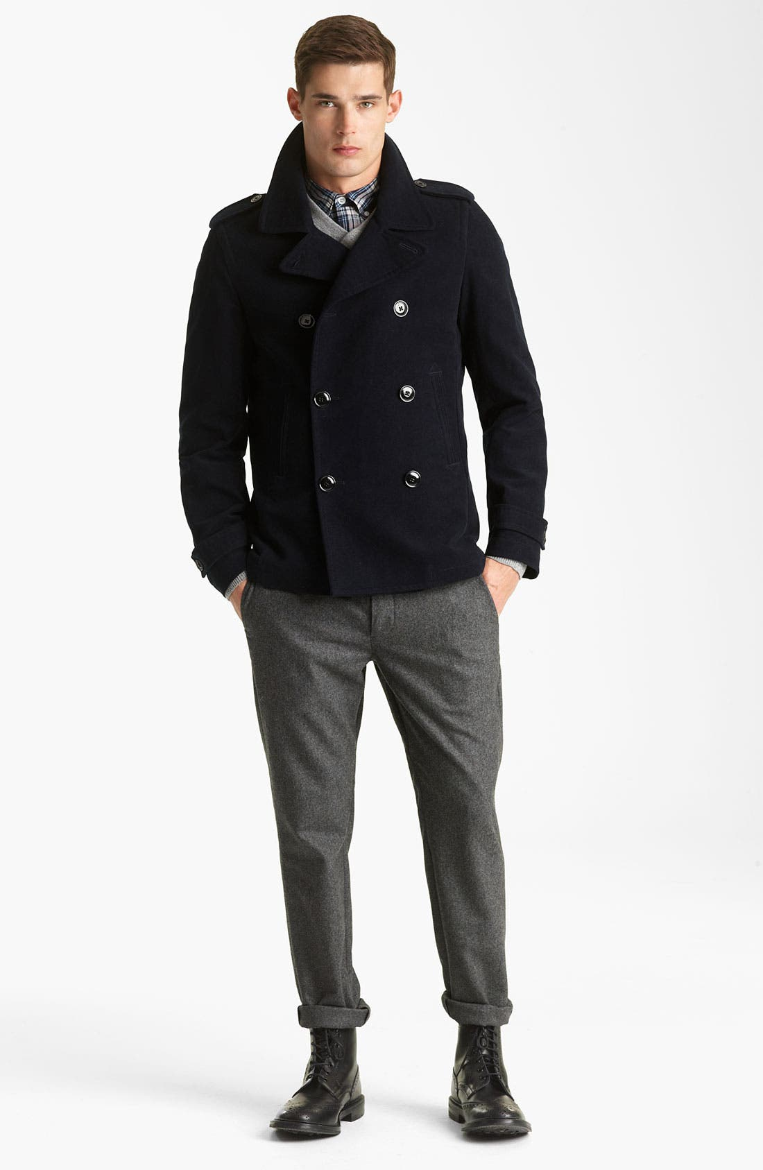 Alternate Image 5  - Todd Snyder Wool Trousers