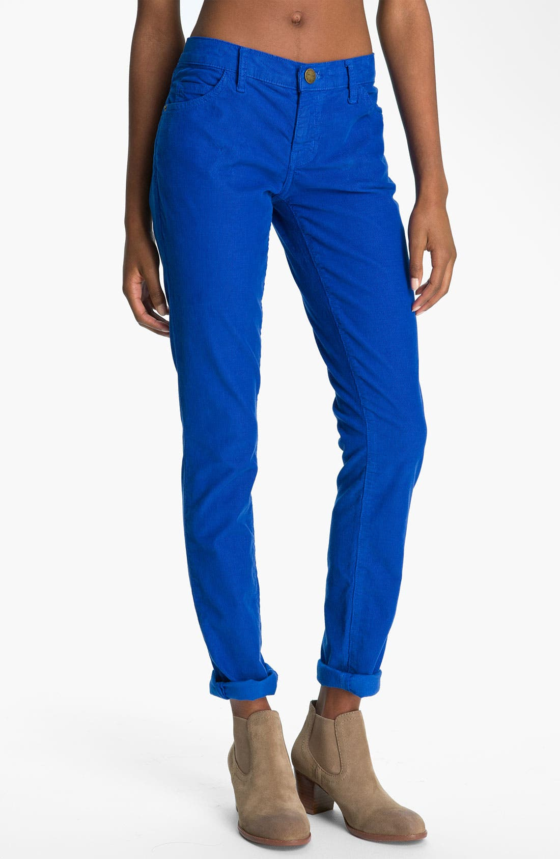 Alternate Image 1 Selected - Current/Elliott 'The Skinny' Stretch Corduroy Pants
