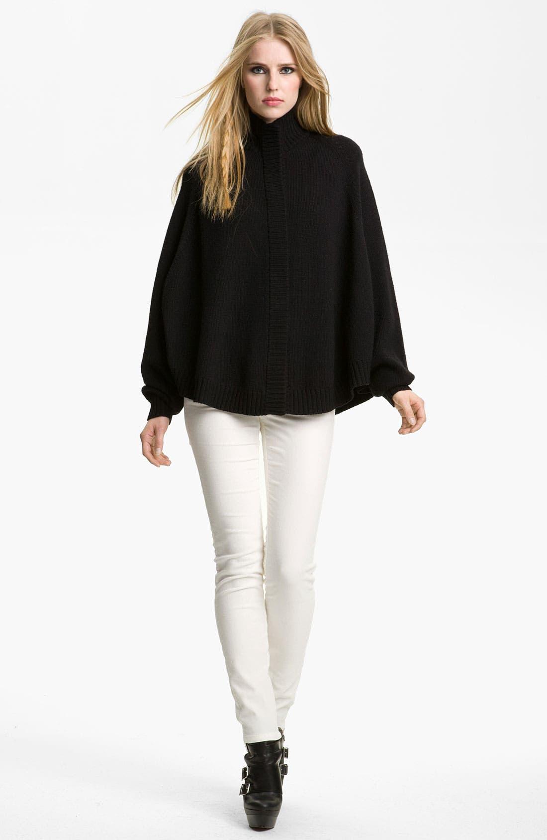 Alternate Image 2  - Rachel Zoe 'Nina' Merino Wool Sweater Cape