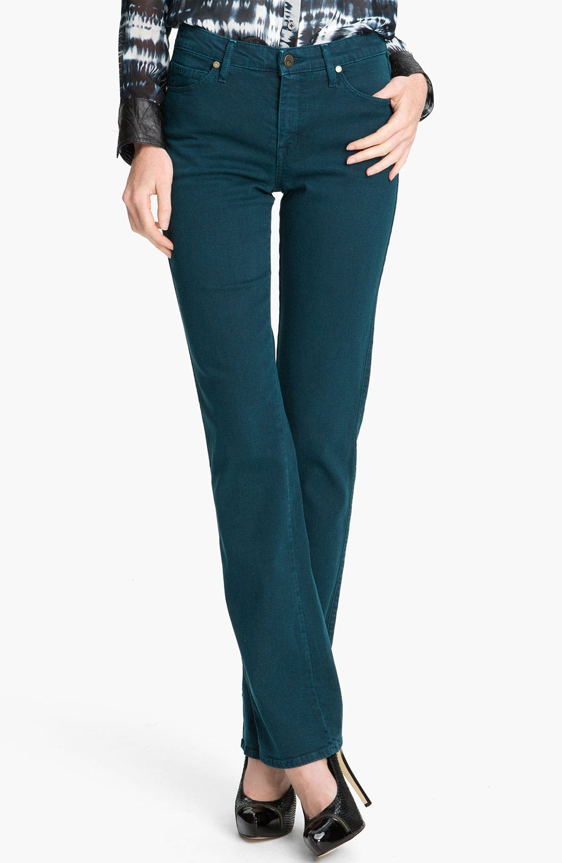 Alternate Image 1 Selected - CJ by Cookie Johnson 'Faith' Straight Leg Stretch Jeans