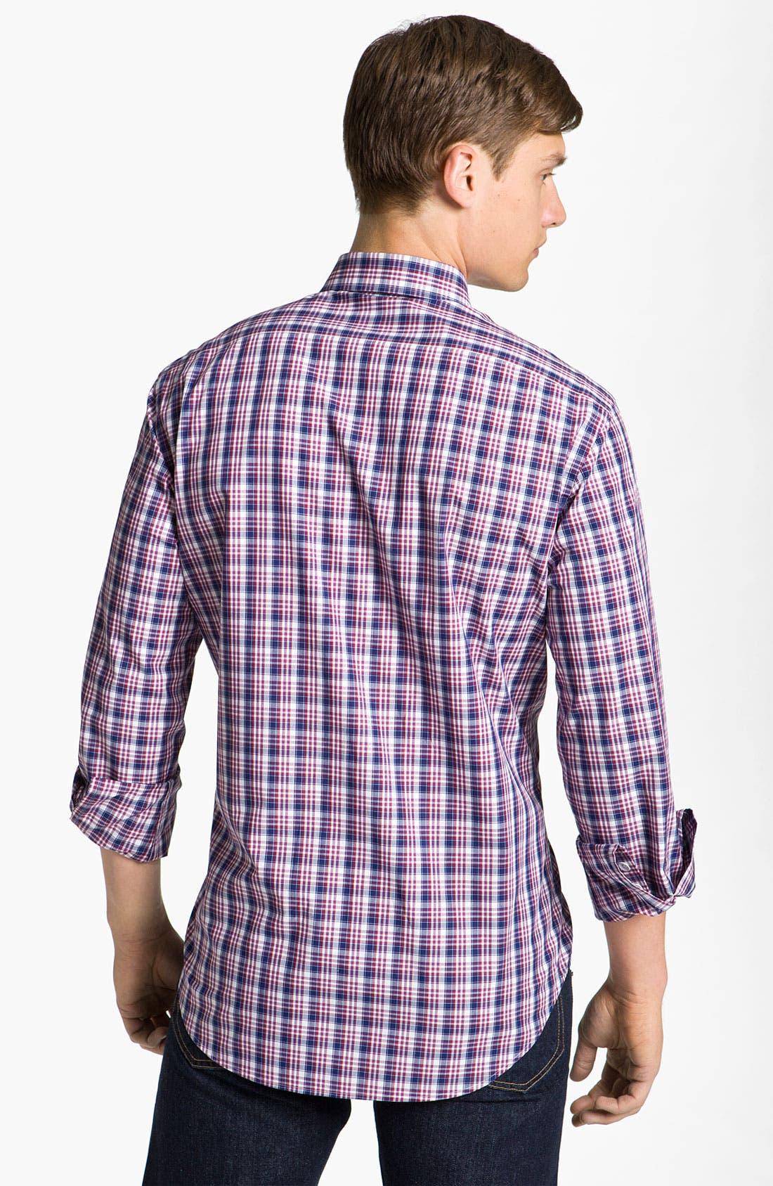 Alternate Image 2  - rag & bone 'Charles' Plaid Woven Shirt
