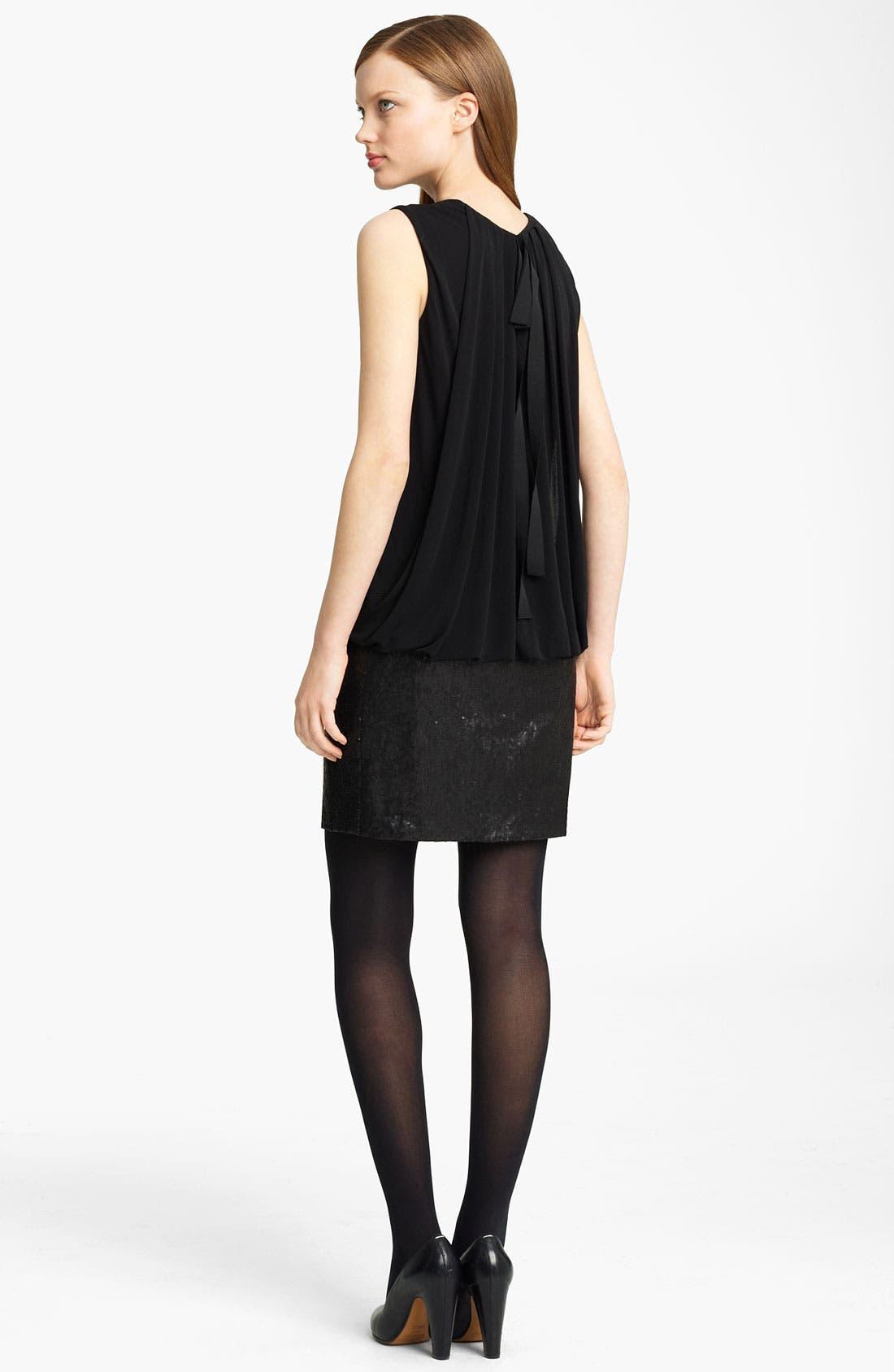Alternate Image 2  - Lida Baday Jersey & Sequin Minidress