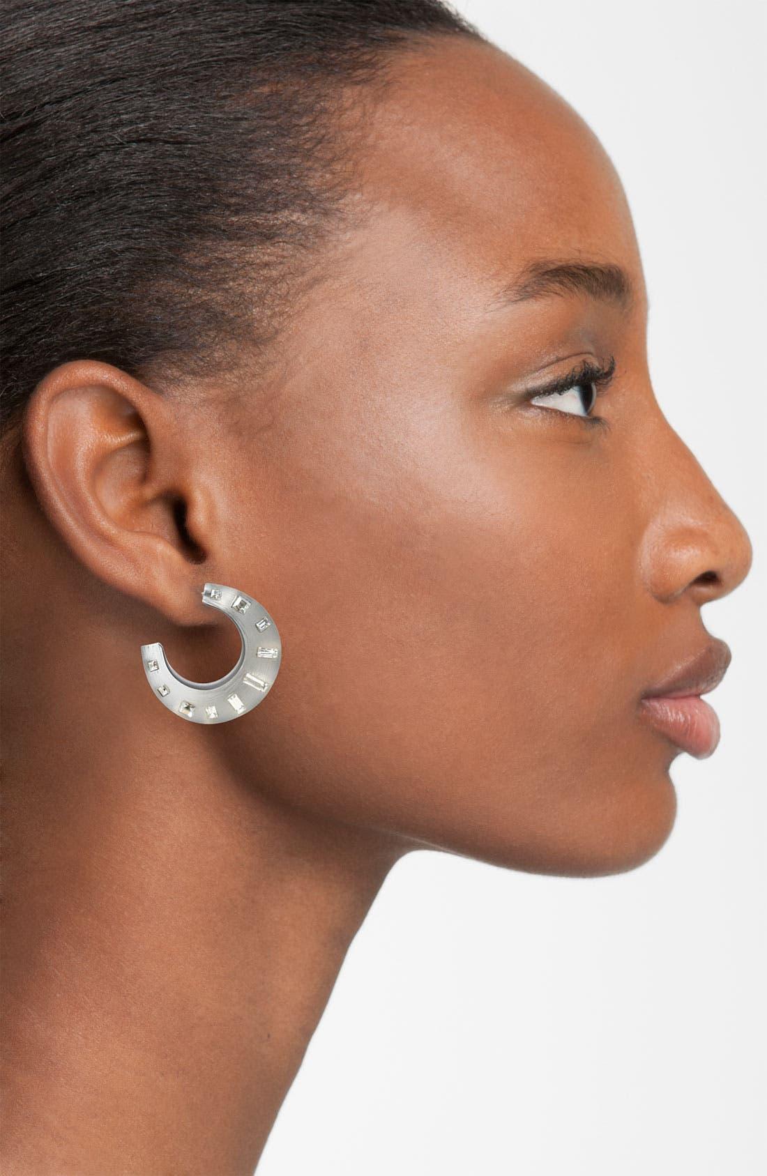 Alternate Image 2  - Alexis Bittar 'Teatro Moderne' Hoop Earrings