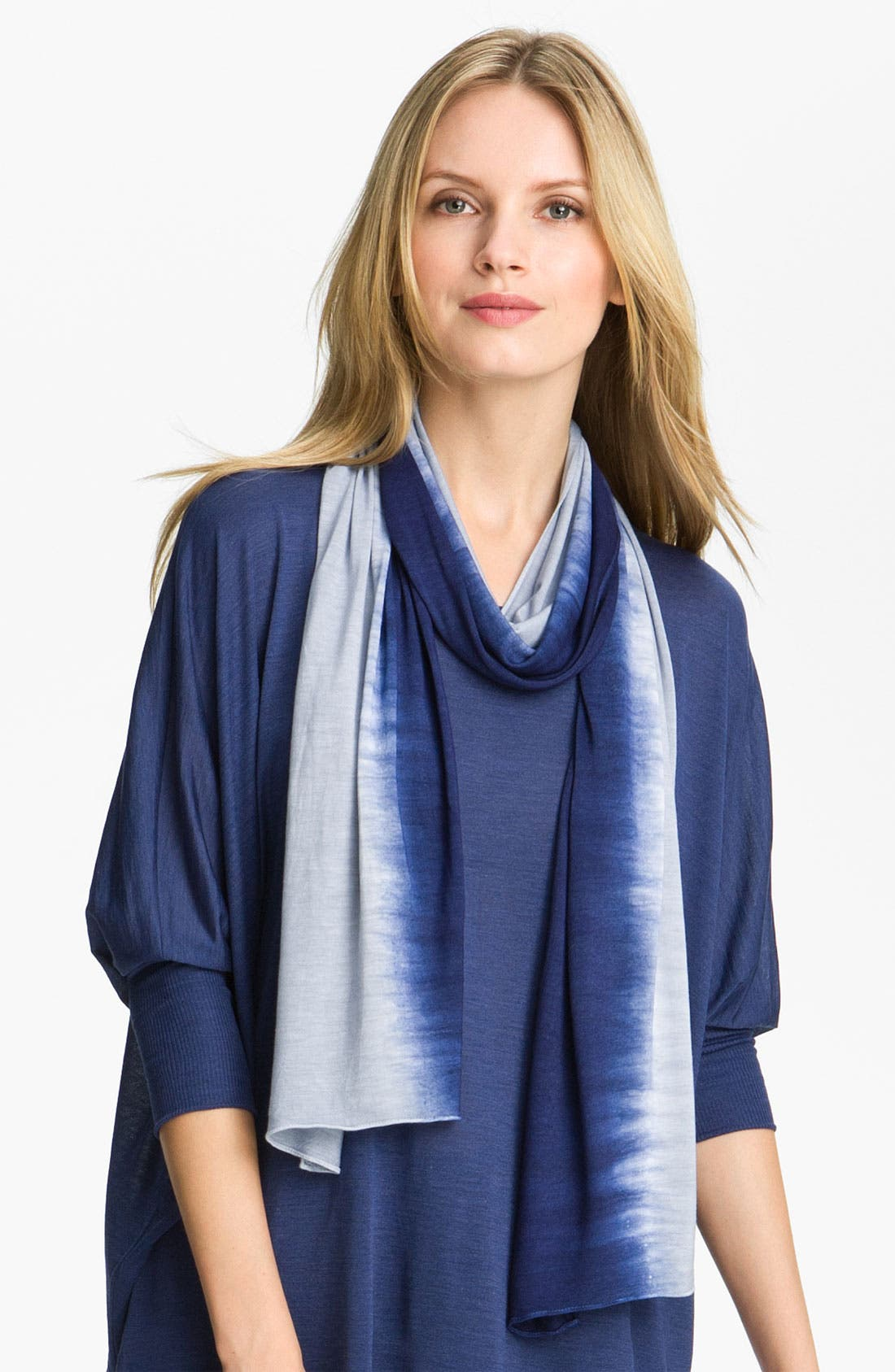 Alternate Image 1 Selected - Eileen Fisher Shibori Knit Scarf