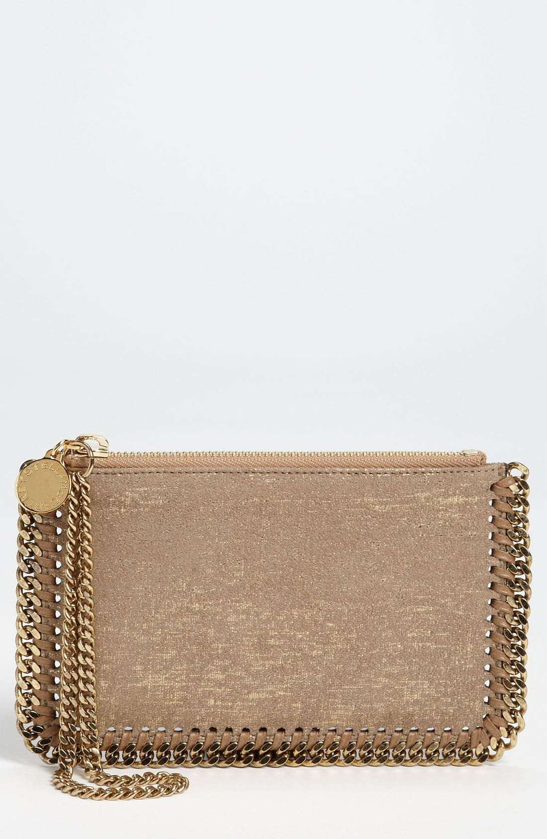 Alternate Image 1 Selected - Stella McCartney 'Falabella' Faux Suede Wristlet