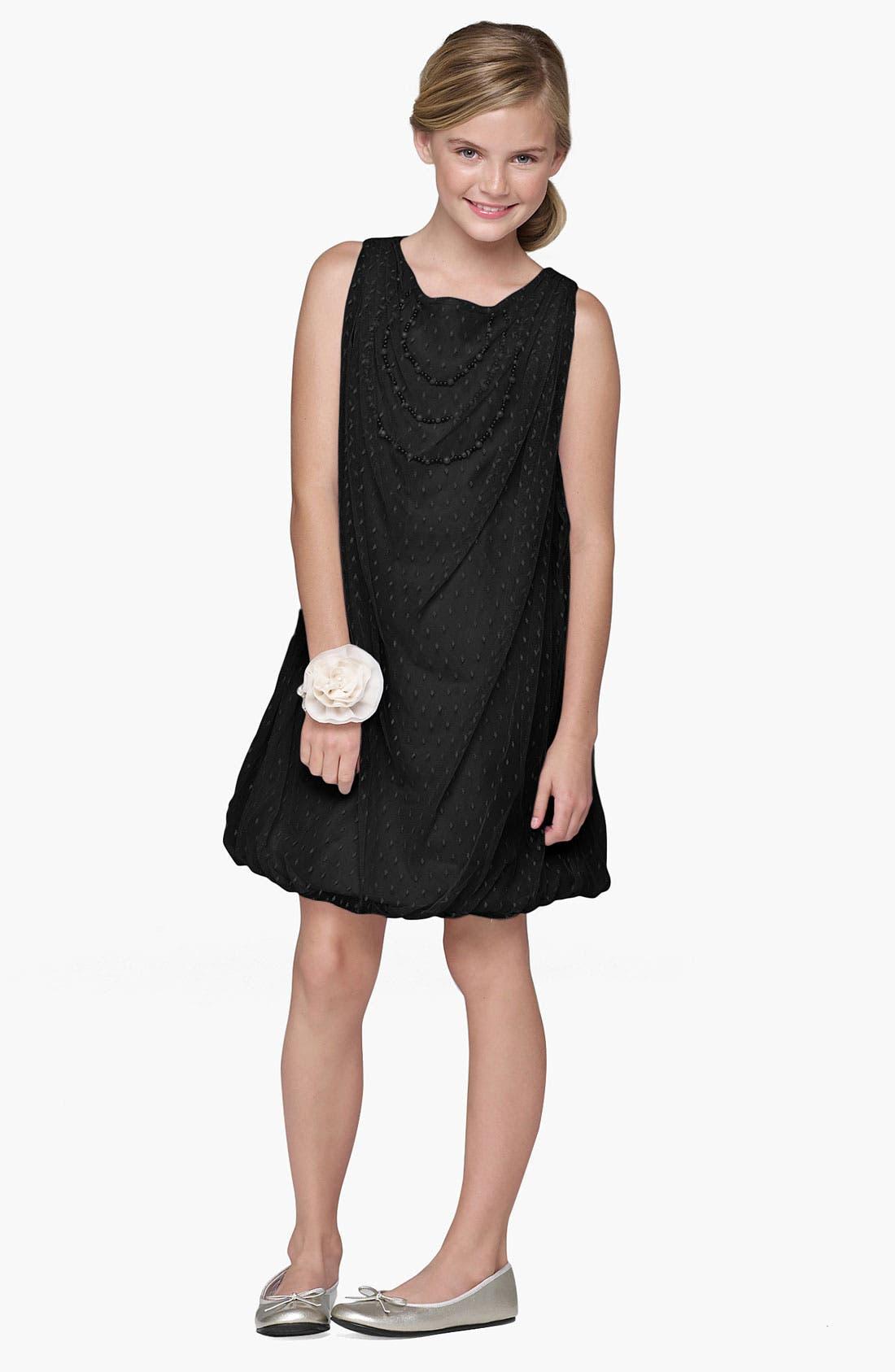Main Image - BLUSH by Us Angels Bubble Dress (Big Girls)