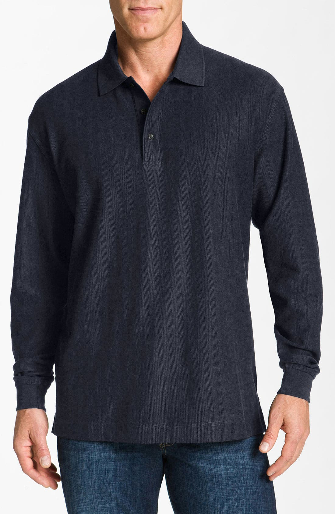 Alternate Image 1 Selected - Cutter & Buck 'Atwell' Polo (Big & Tall)