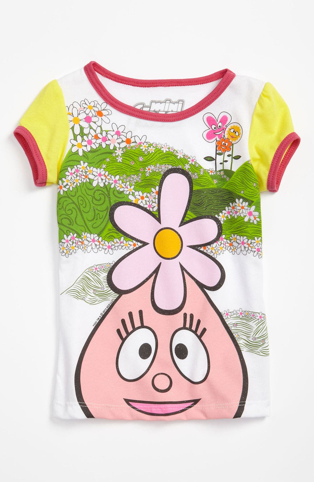 Alternate Image 1 Selected - Mighty Fine Graphic Tee (Toddler)