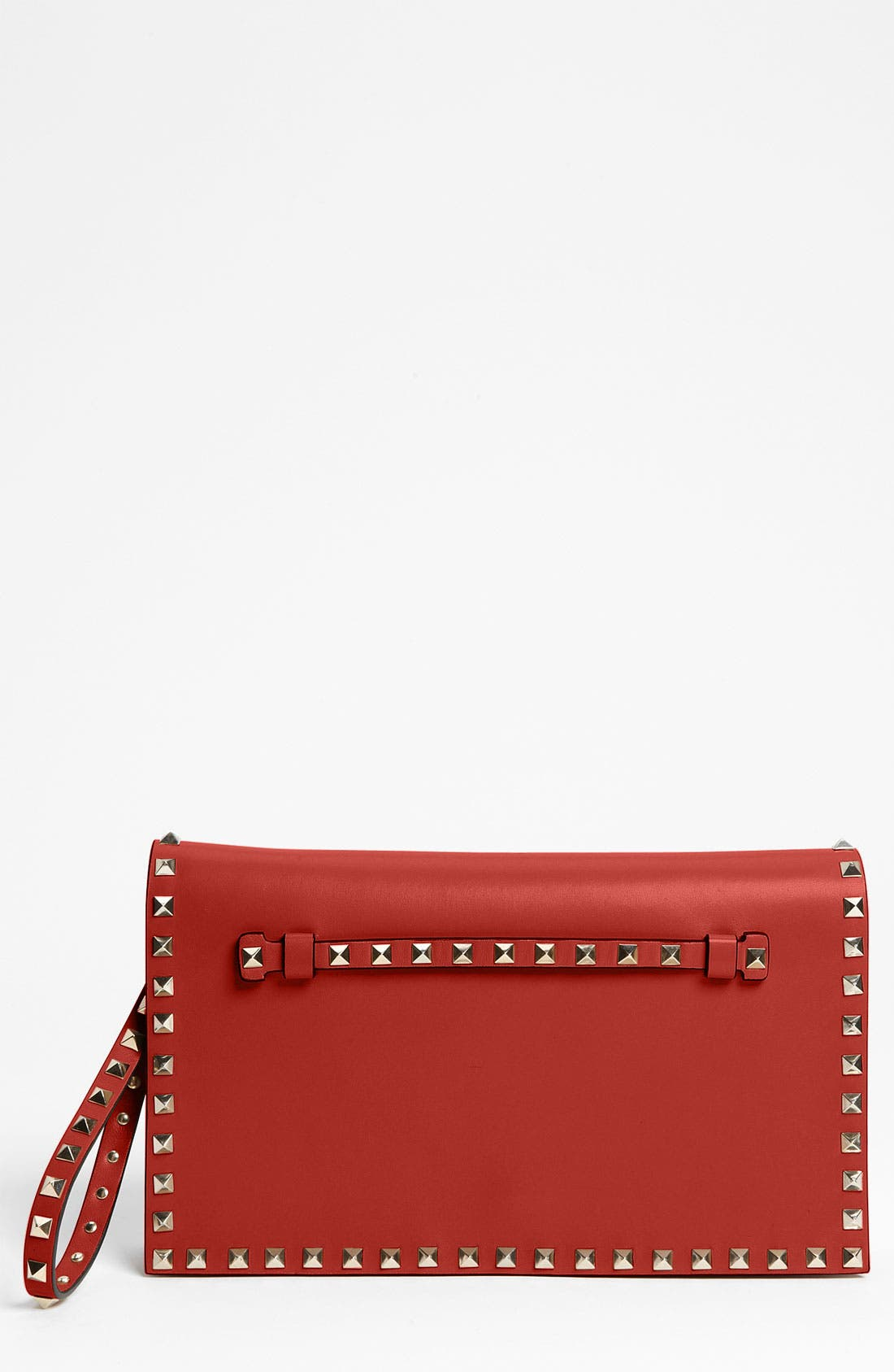 Main Image - Valentino 'Rockstud' Leather Clutch