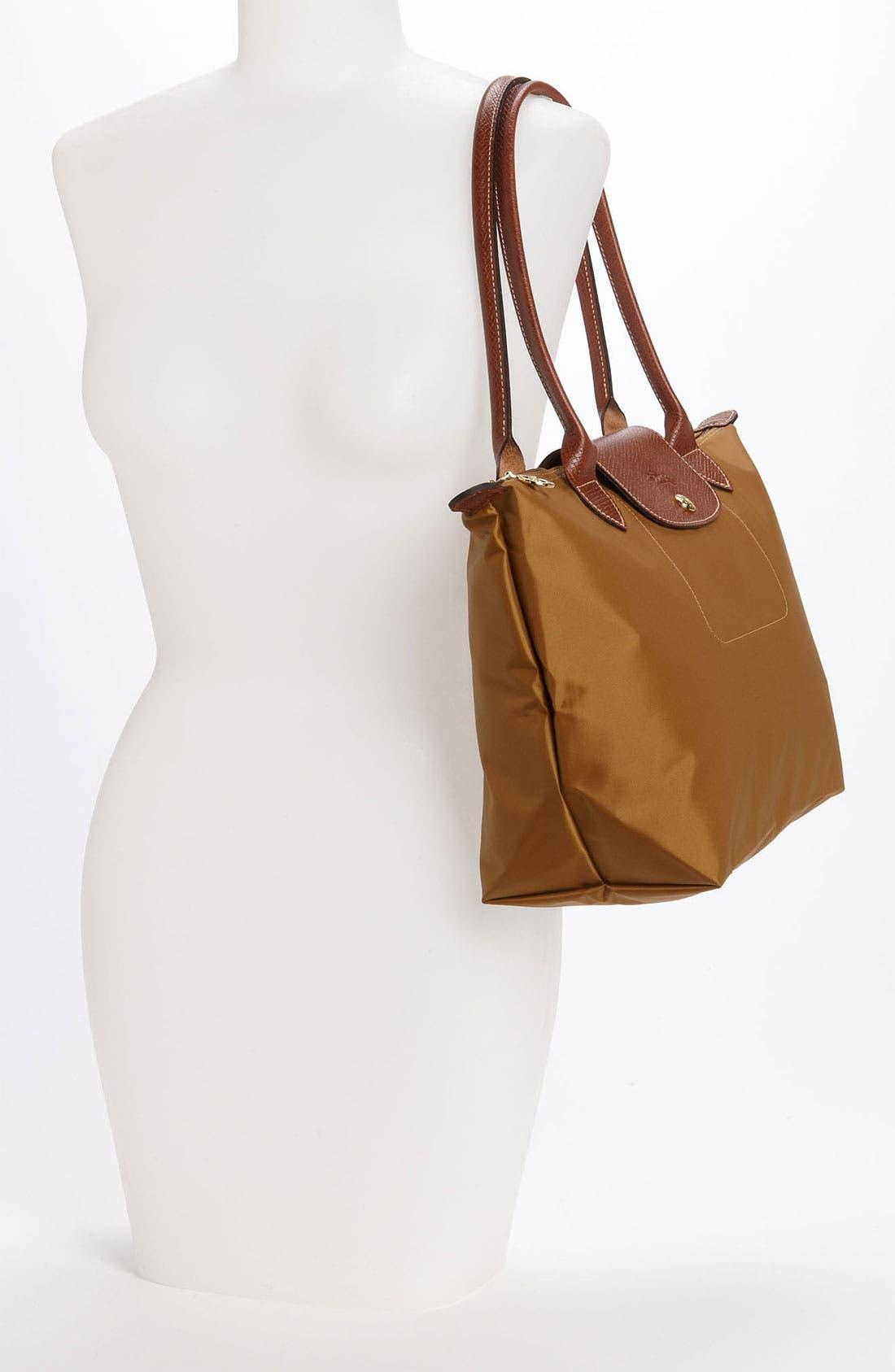 Alternate Image 2  - Longchamp 'Le Pliage - Small Shopping Bag'
