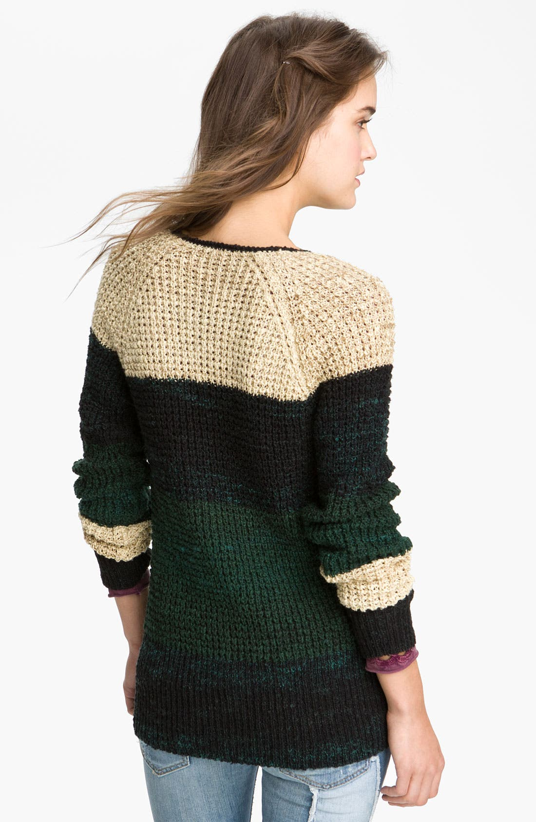 Alternate Image 2  - Free People 'Lake Tahoe' Colorblock Cardigan