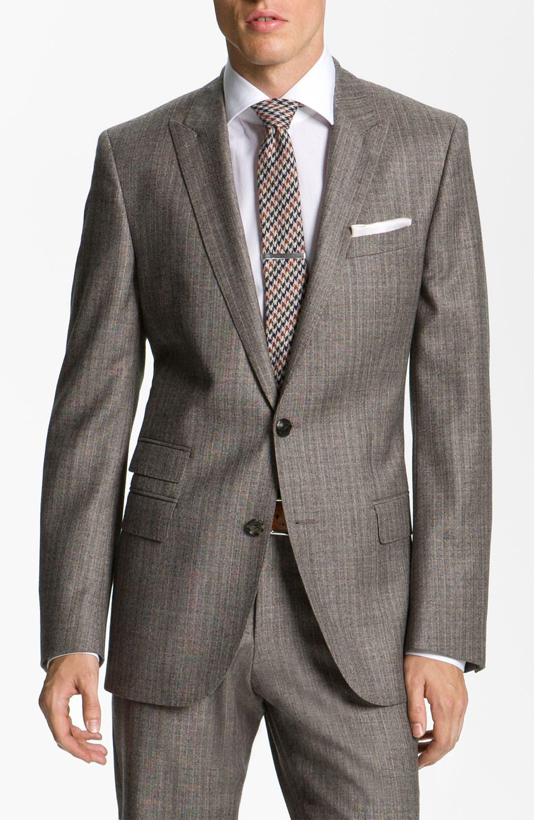 Main Image - BOSS Black Suit & Dress Shirt
