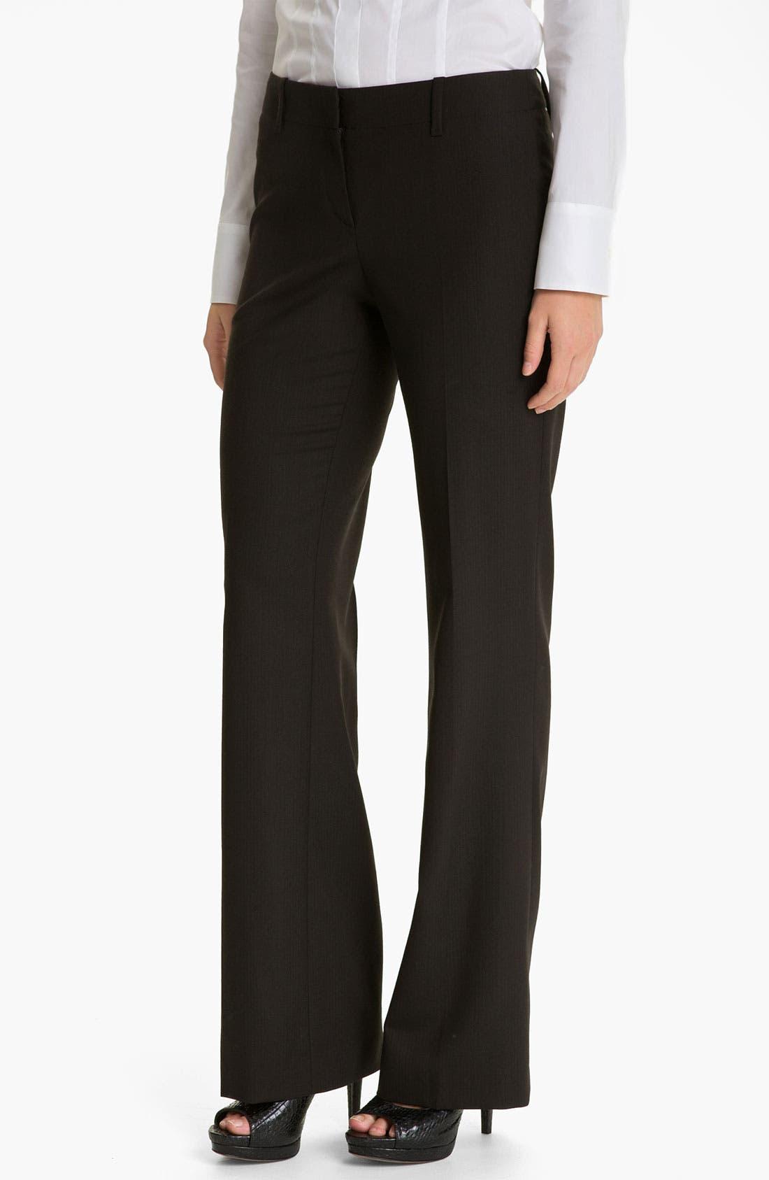 Alternate Image 1 Selected - BOSS Black 'Tulia' Pants
