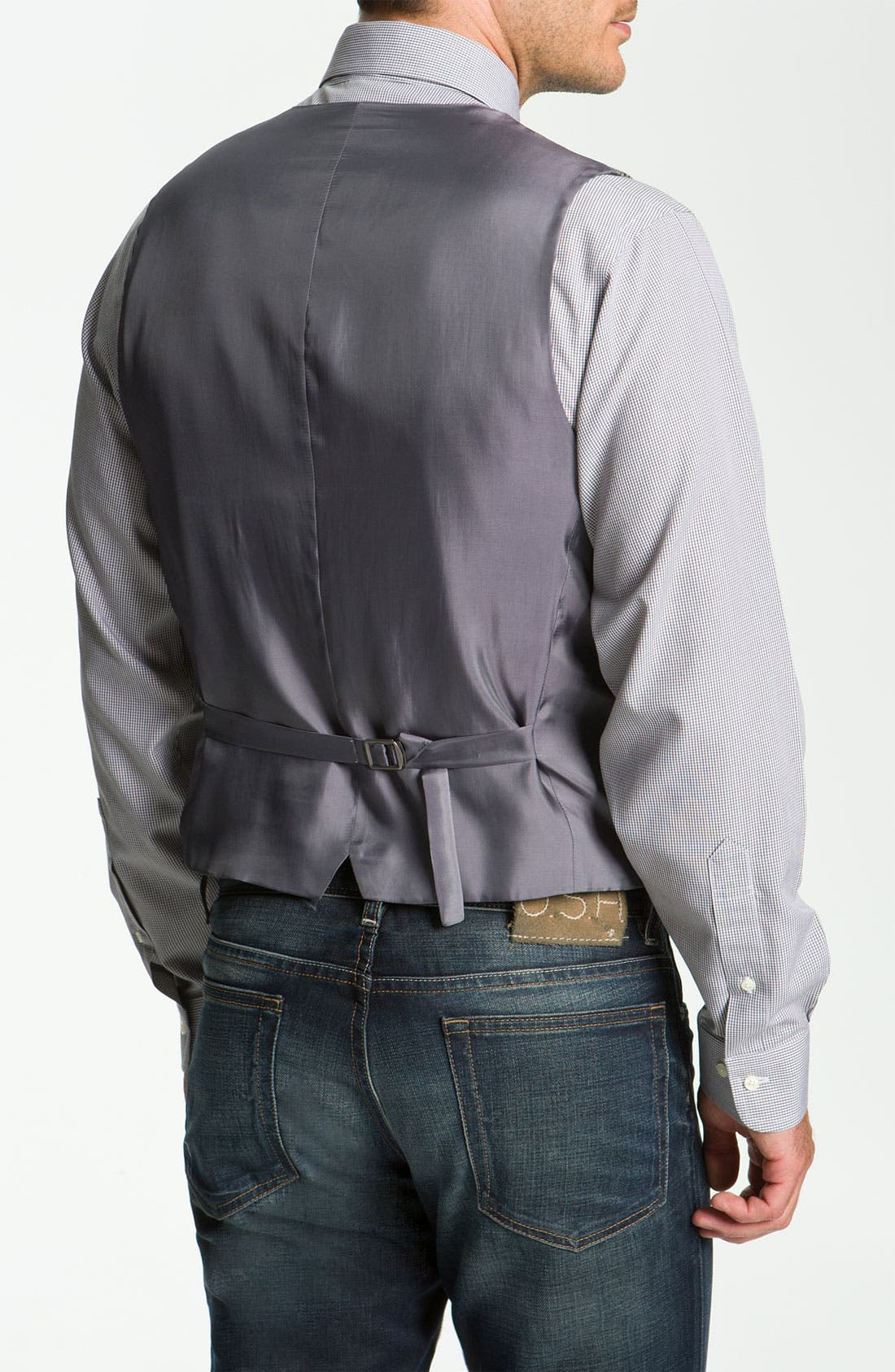 Alternate Image 2  - John W. Nordstrom® Houndstooth Wool Vest