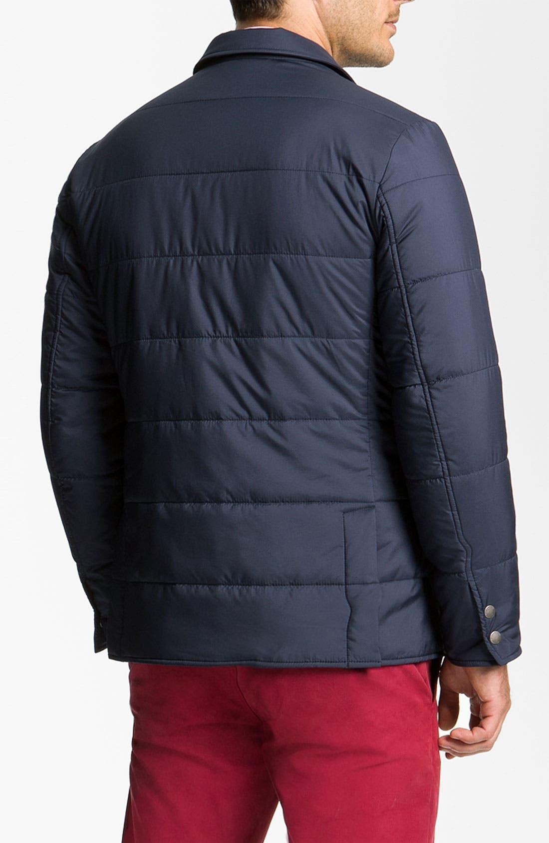 Alternate Image 2  - Brooks Brothers 'University' Quilted Blazer-Cut Jacket