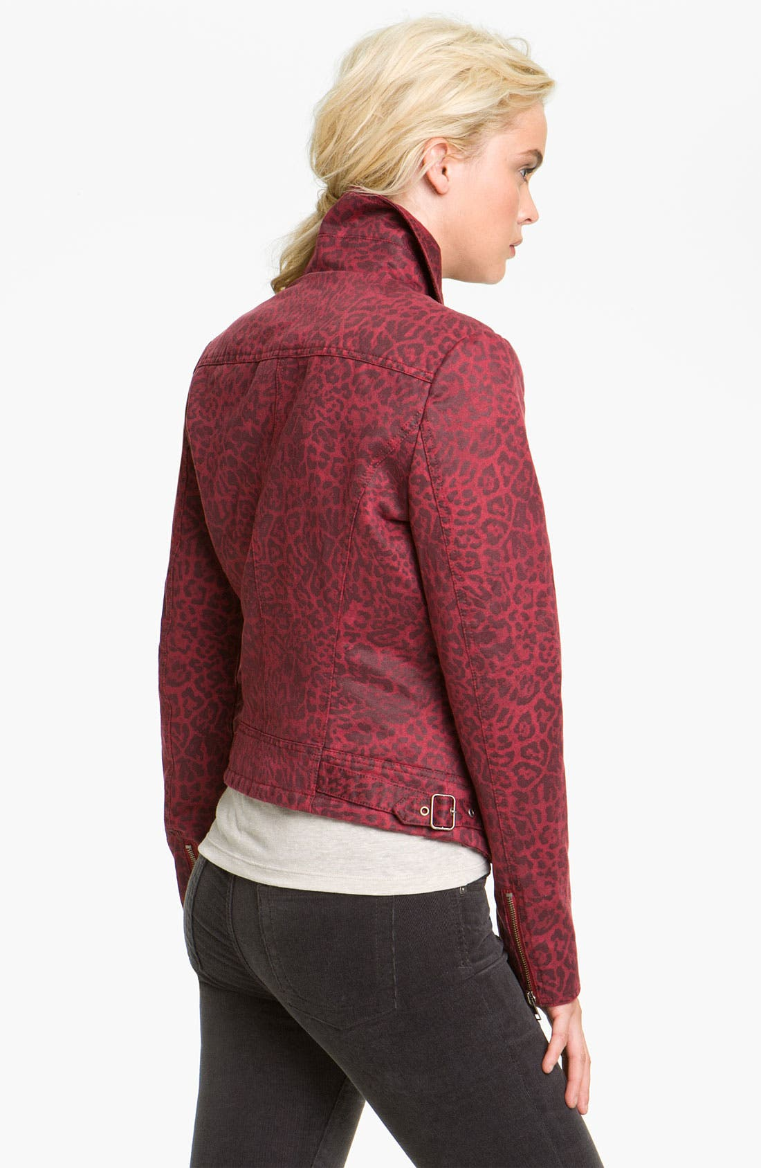 Alternate Image 2  - KUT from the Kloth Animal Print Jacket