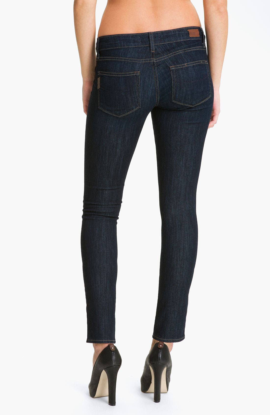 Alternate Image 2  - Paige Denim 'Skyline' Ankle Peg Skinny Stretch Jeans (Dream)