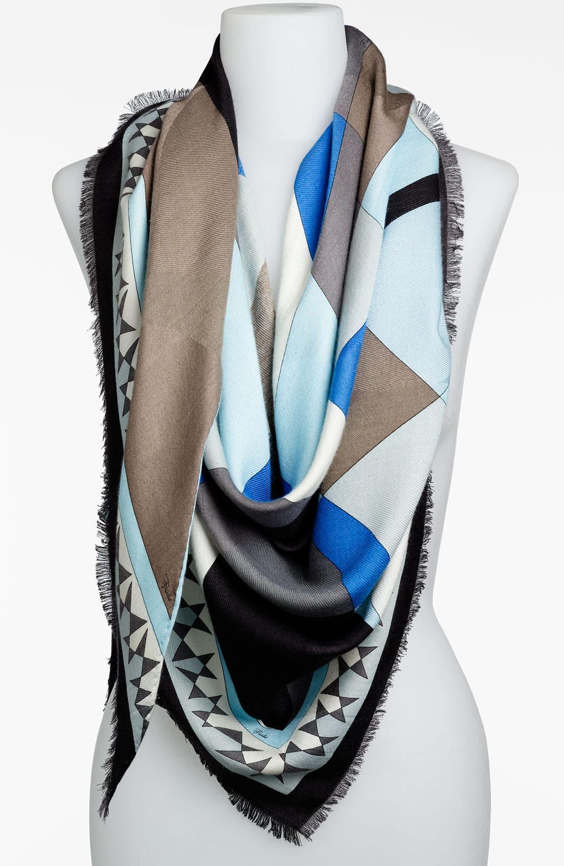 Alternate Image 1 Selected - Emilio Pucci 'Fantasia' Triangle Scarf