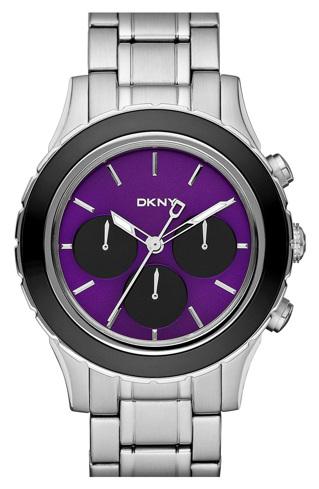 Alternate Image 1 Selected - DKNY Chronograph Bracelet Watch