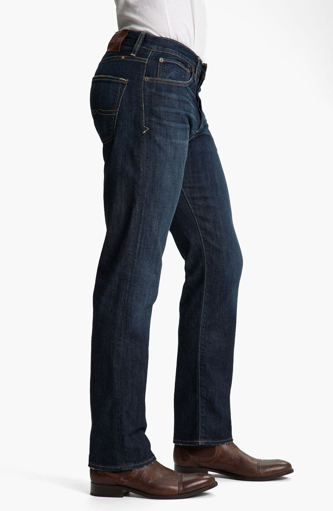 Alternate Image 3  - Lucky Brand '123 Heritage' Slim Straight Leg Jeans (Ol' Occidental)