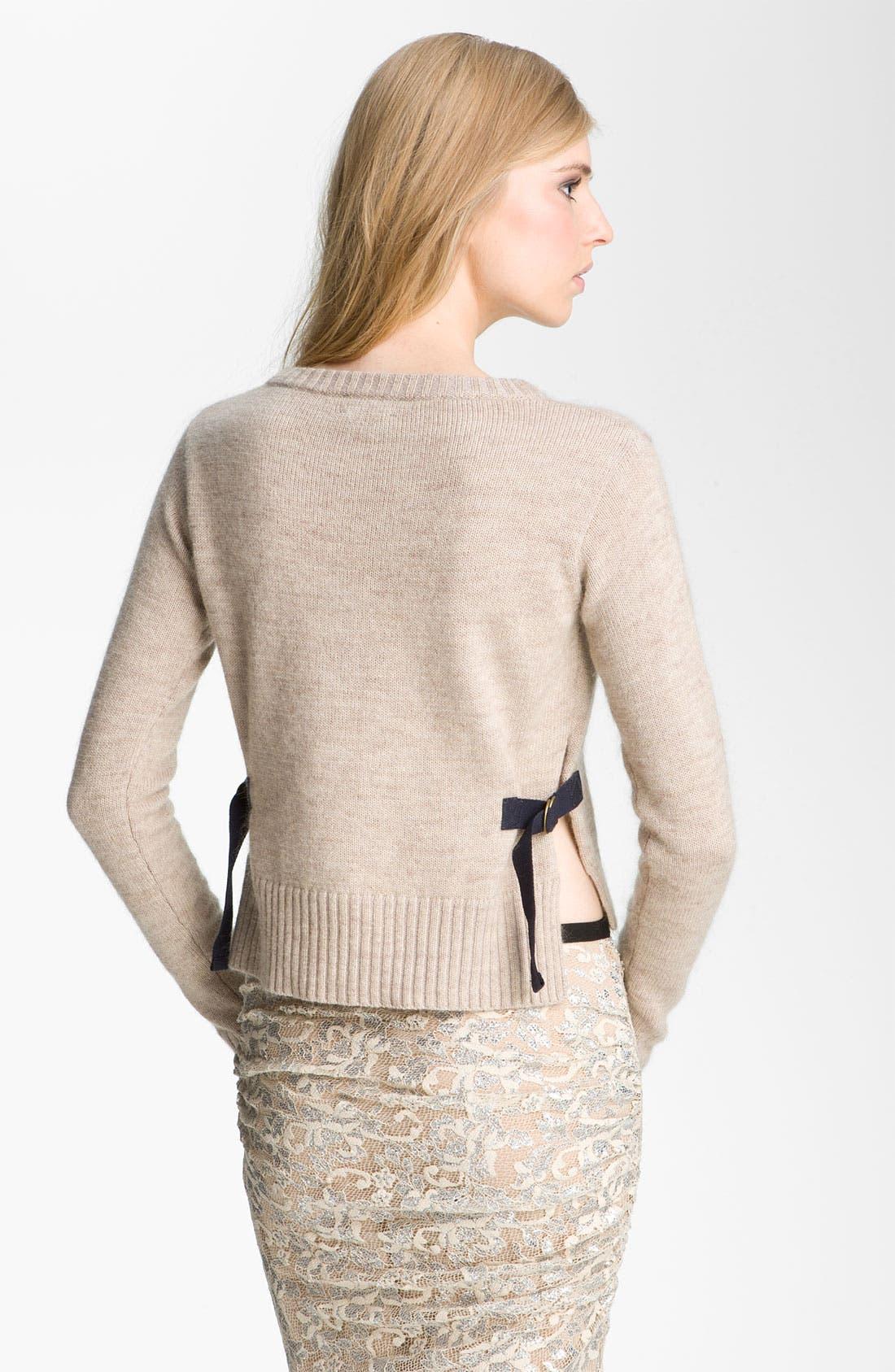 Alternate Image 2  - Gryphon Mohair Blend Crewneck Sweater