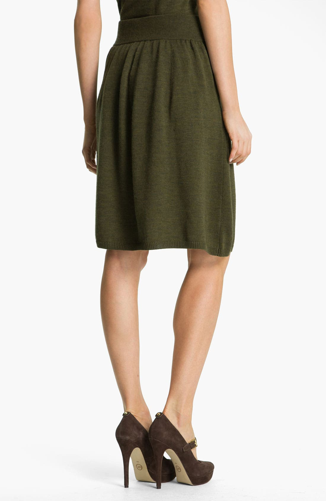 Alternate Image 2  - Eileen Fisher Fine Merino Jersey A-Line Skirt
