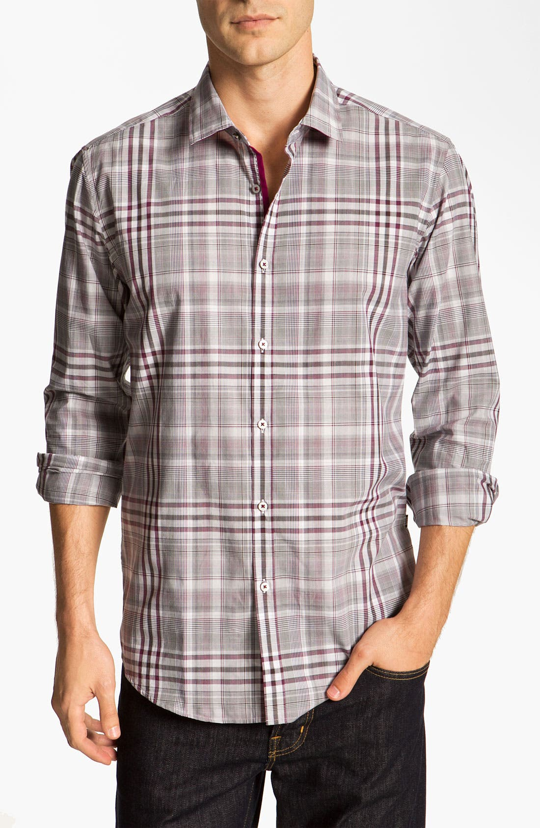 Main Image - BOSS Black 'Lorenzo' Regular Fit Sport Shirt
