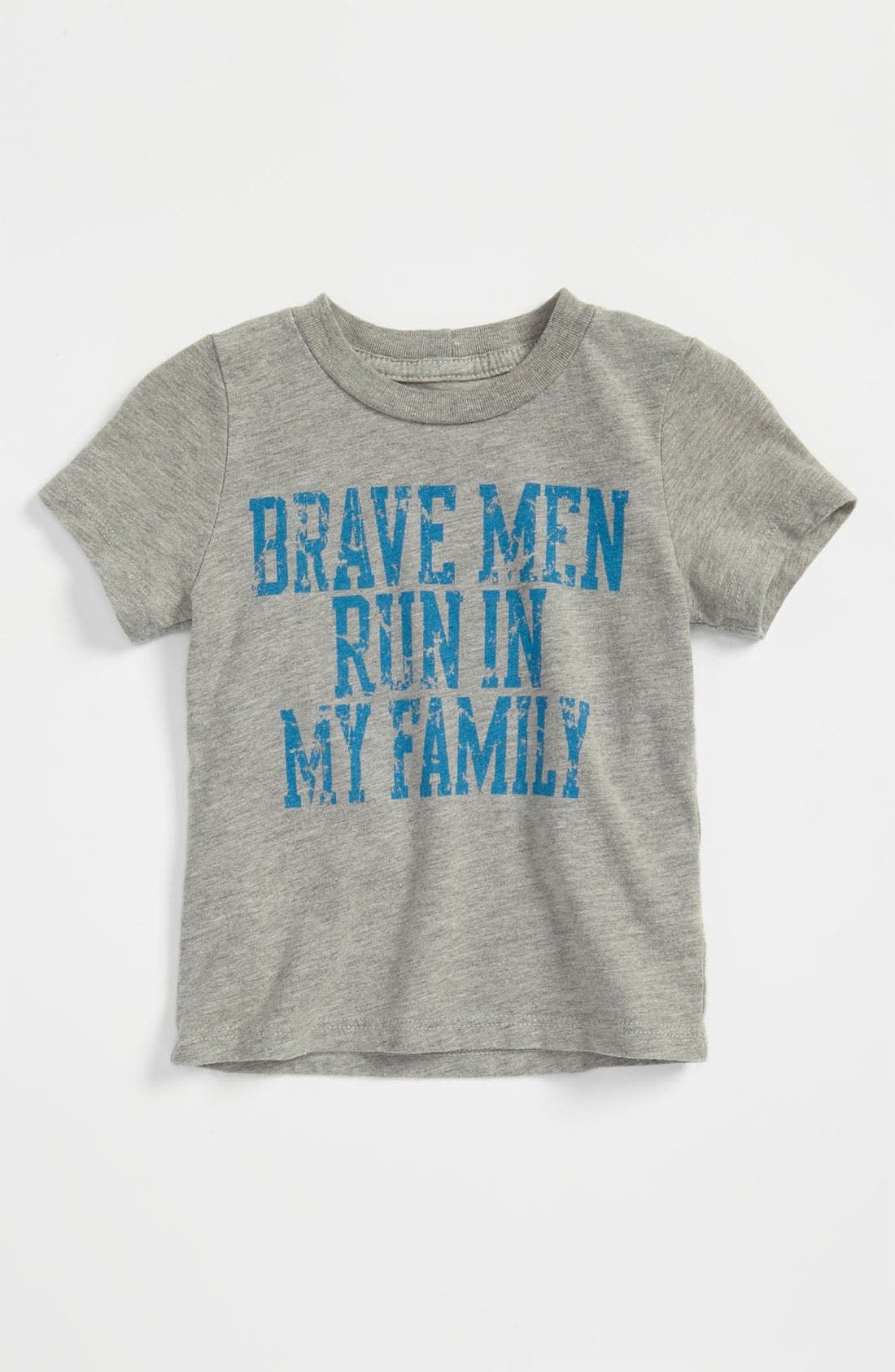 Alternate Image 1 Selected - Peek 'Brave Men' T-Shirt (Infant)