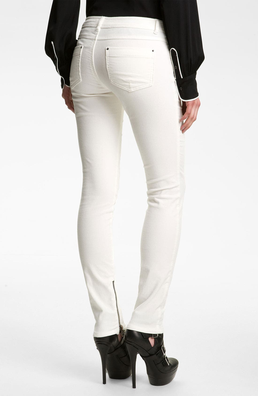 Alternate Image 2  - Rachel Zoe 'Julie' Skinny Corduroy Pants